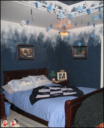 Winter magic in your bedroom uberlyfe for Winter bedroom