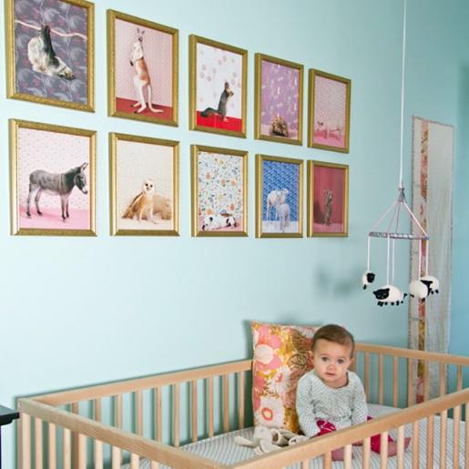 Framed Art Decor for Nursery