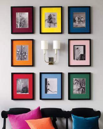 Add Some Color to the Frames