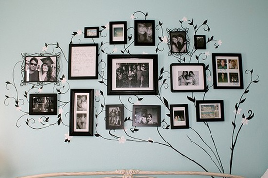 Wall Sticker cum Photo Frames