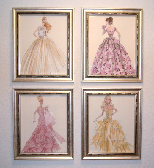Framed Princesses
